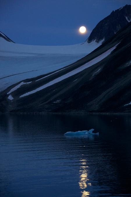 1 Arctic moon rise