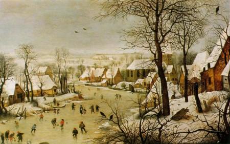 Pieter-Brueghel-Paysage-dhiver-avec-patineurs-et-trappe-aux-oiseaux-1024x641